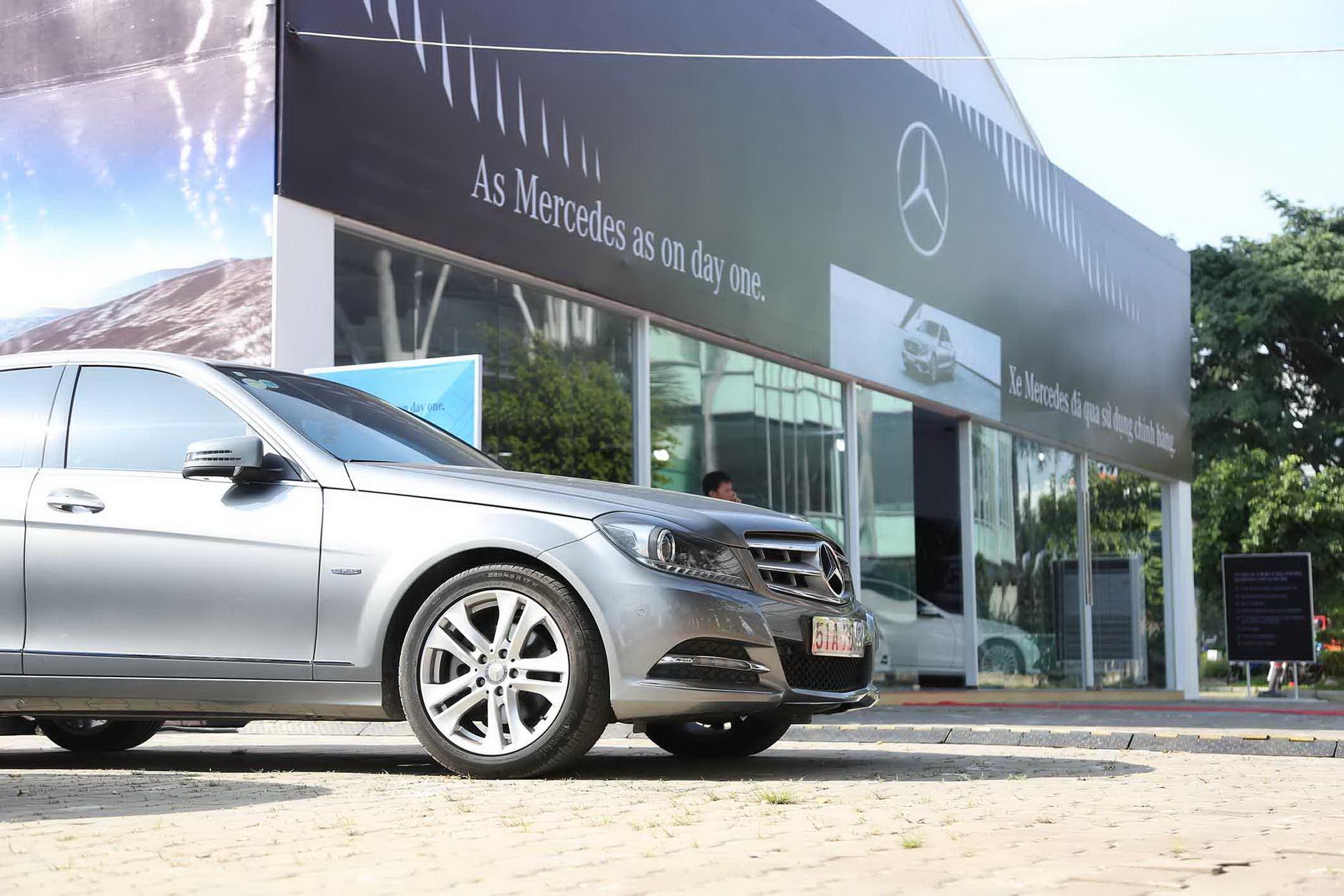 Bên cạnh những mẫu xe mới, Mercedes-Benz còn mang đến cho khách hàng những lựa chọn phù hợp với những mẫu xe chính hãng đã qua sử dụng