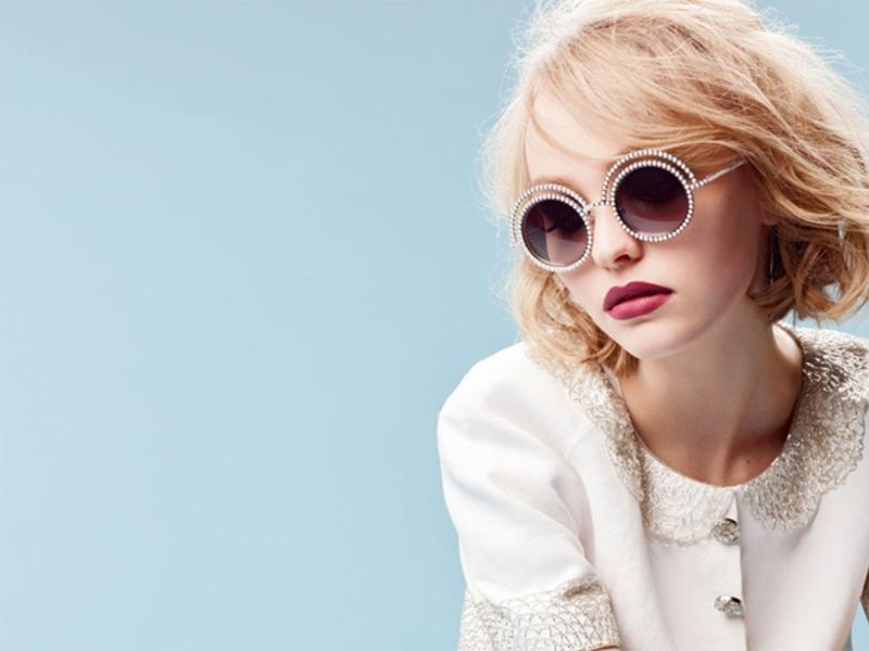 Bo suu tap  mat kinh CHANEL 2015 PEARL EYEWEAR COLLECTION