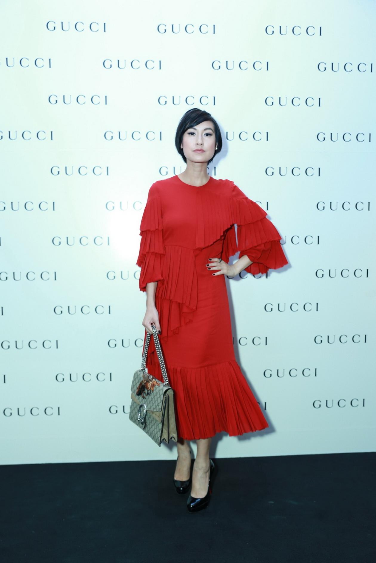 Gucci chinh thuc khai truong va ra mat BST moi (2)