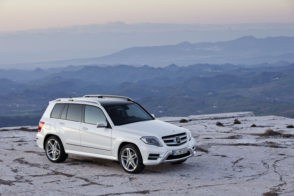 GLK 350 4MATIC, Diamantweiß metallic (X 204) 2012