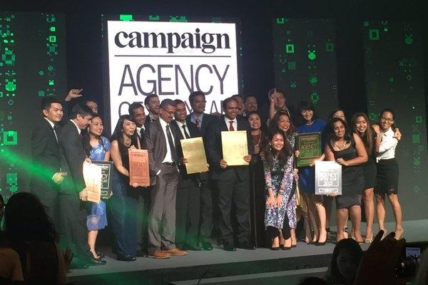 Mindshare nhận giải Media Agency của năm.