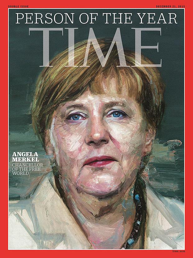 Chân dung Nhân vật của năm trên bìa tạp chí Time. Ảnh: Time.