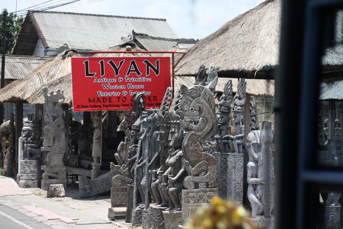 Các sản phẩm điêu khắc mang đậm phong cách Balinese