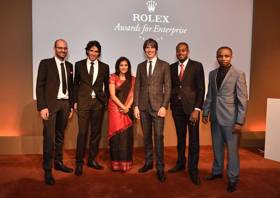 Lễ trao giải Rolex Awards năm 2014 tại The Royal Society, London.