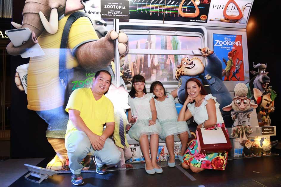 Gia đình người mẫu, MC Thúy Hạnh
