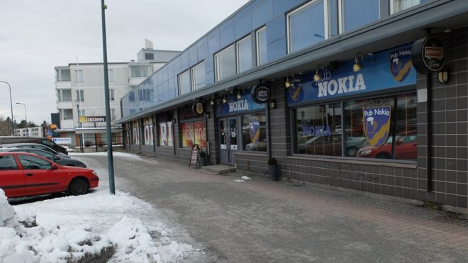 Cái tên Nokia được đại gia công nghệ đặt theo tên thị trấn Nokia. Ảnh: BBC