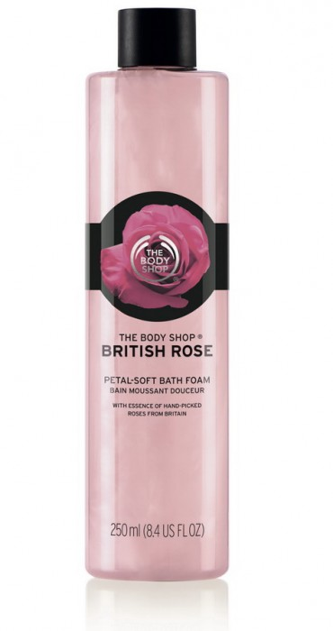 BRITISH ROSE PETAL SOFT BATH FOAM 250ML_INROSPS018_resize