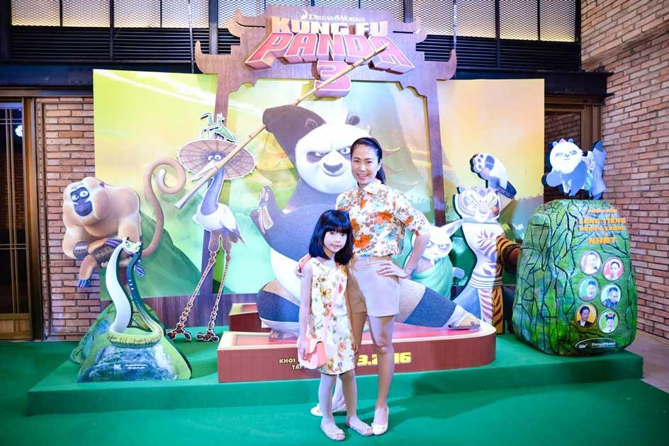 MC Thanh Thảo và con gái