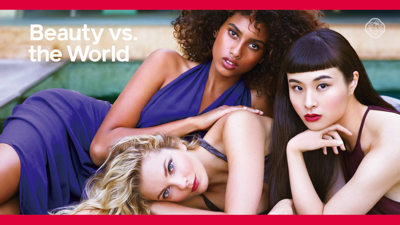Beauty vs. the World – Chiến dịch quảng cáo mới nhất với hình ảnh 3 người mẫu biểu trưng cho sự đa dạng của cái Đẹp