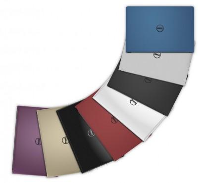Inspiron 5559 có nhiều màu sắc đa dạng để chọn lựa