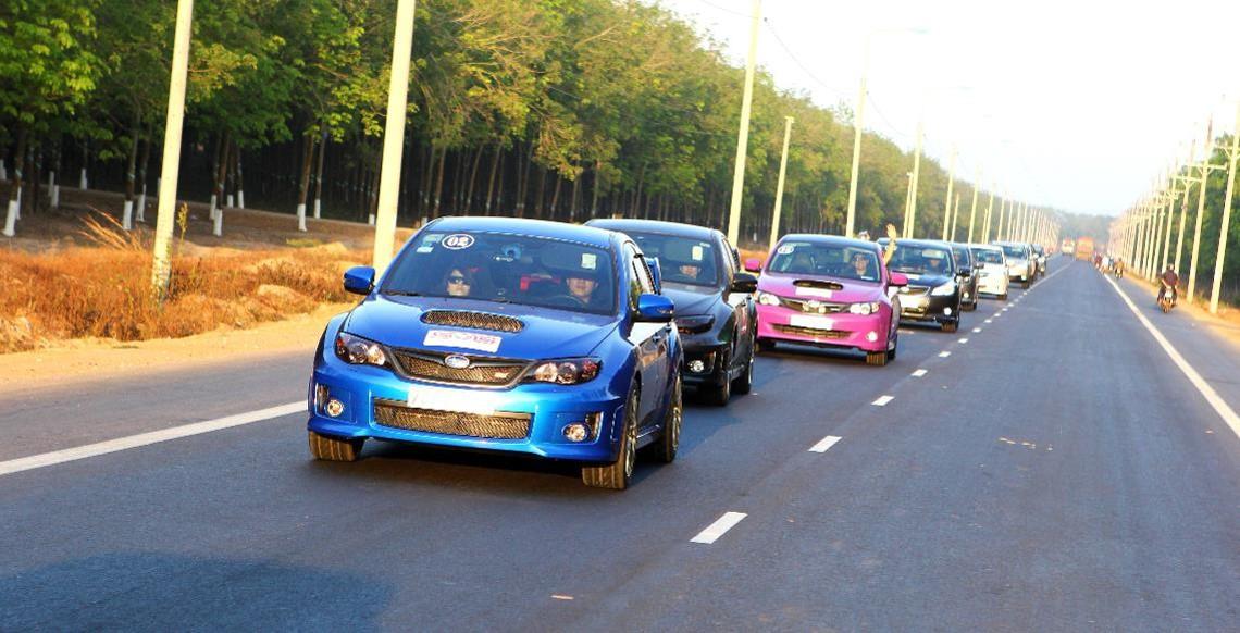 Hội những người yêu xe Subaru.