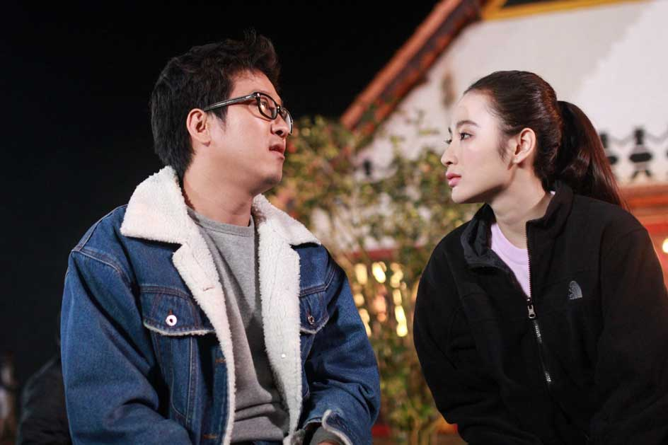 Trường Giang và Angela Phương Trinh trong phim