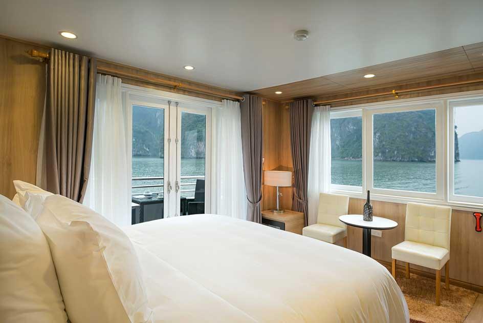 La Vela Premium chỉ với 21 phòng nhưng có tới 8 phòng có ban công và 13 phòng cao cấp.