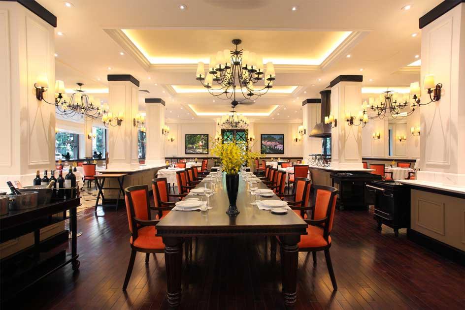 Nhà hàng Le Beaulieu, ốc đảo của ẩm thực Pháp cao cấp