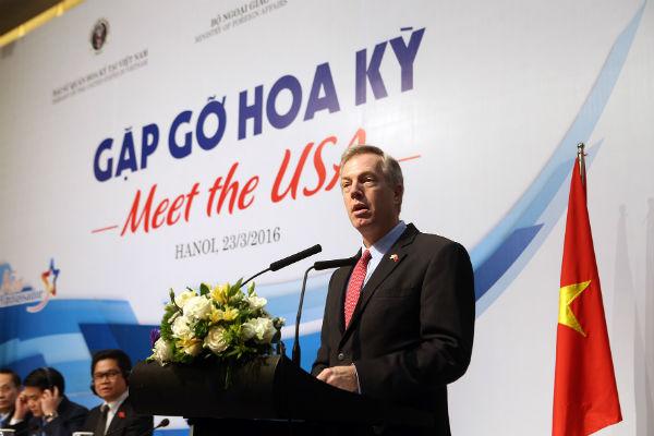 Ngài Ted Osius, Đại sứ Hoa Kỳ tại Việt Nam. Ảnh: Đức Thanh.