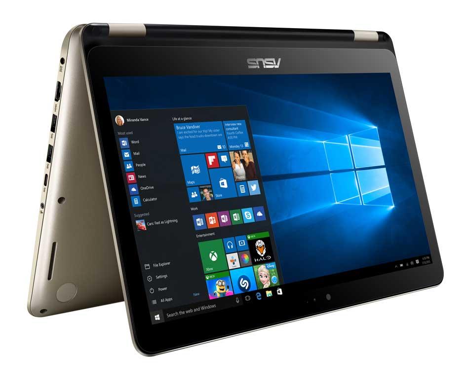 Khả năng biến hình của VivoBook Flip TP301UA