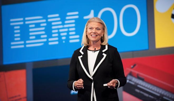 """Virginia """"Ginni"""" Rometty là CEO thứ chín cũng như là nữ CEO đầu tiên trong lịch sử hơn 100 năm của IBM. Bà được kỳ vọng sẽ mang đến sự đổi mới và có thể giúp IBM bứt phá trong bối cảnh cạnh tranh khốc liệt giữa các hãng công nghệ hiện nay."""