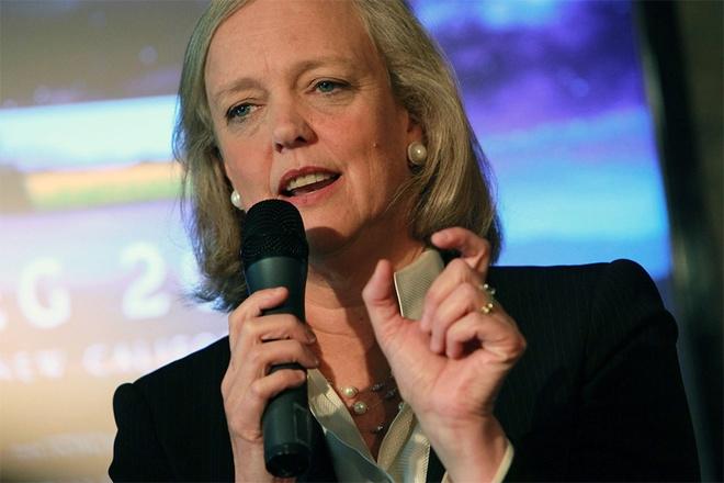 Meg Whitman là cái tên đã rất quen thuộc trong giới công nghệ bởi nữ tỷ phú này từng 10 năm là CEO của eBay, còn hiện nay bà giữ vị trí CEO tại HP. Năm 2010, bà từng tham gia tranh cử Thống đốc bang California và dù thất bại, bà vẫn được đánh giá là nữ doanh nhân tài ba và quyền lực của giới công nghệ.