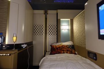 Để trở thành hành khách trên khoang The Residence mà Etihad Airways phục vụ trên hành trình từ Sydney đến Dubai, bạn phải sẵn sàng chi số tiền 24.000 USD.
