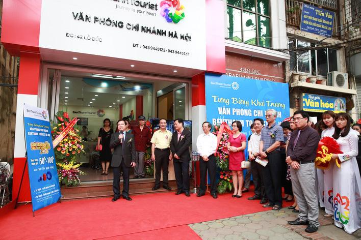 Ông Hà Văn Siêu – Phó Tổng cục trưởng Tổng cục Du lịch Việt Nam phát biểu trong lễ khai trương.