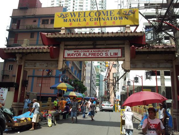 Binondo ở Manila là một trong những khu phố Tàu lâu đời nhất thế giới