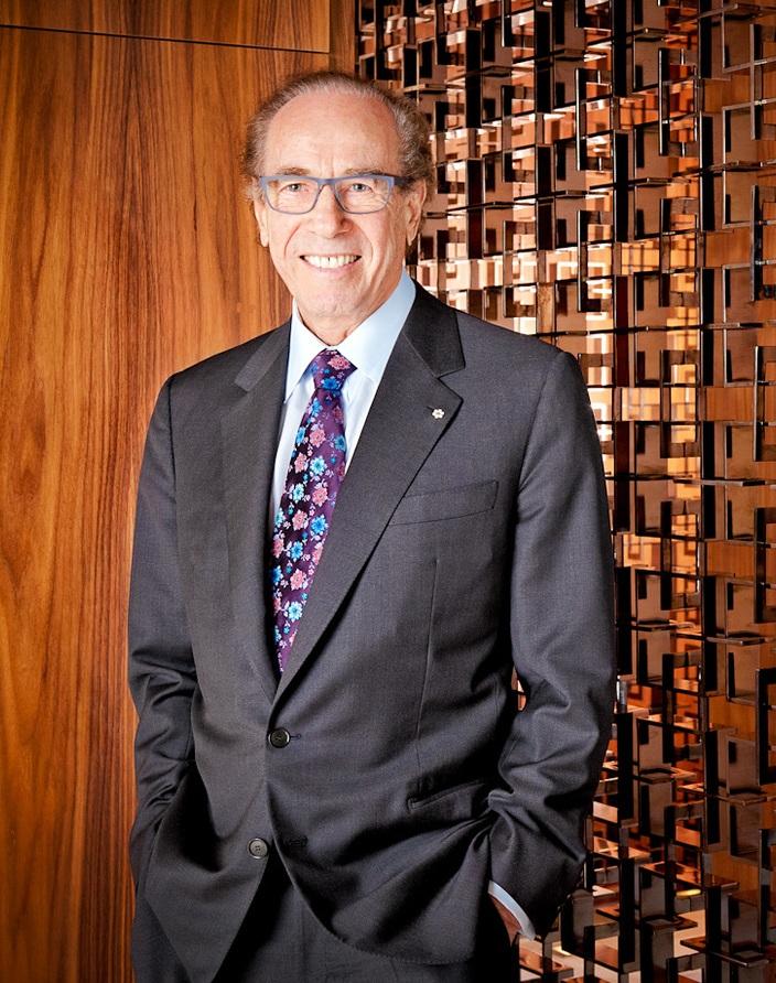 Isadore Sharp, ông chủ chuỗi khách sạn sang trọng bậc nhất thế giới Four Seasons.