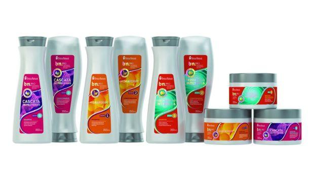 Các dòng sản phẩm tóc của Beleza Natural.