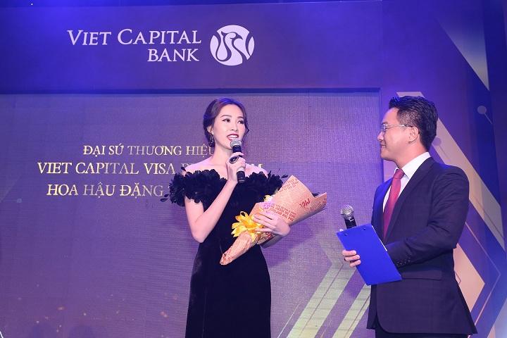 Hoa hậu Đặng Thu Thảo là đại sứ thương hiệu Thẻ tín dụng Viet Capital Visa Platinum với công nghệ 3D độc đáo.