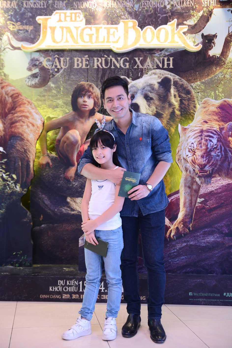 MC Phan Anh và con gái