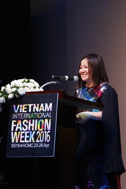 Bà Lê Thị Quỳnh Trang, Chủ tịch Multimedia, đơn vị tổ chức VIFW.