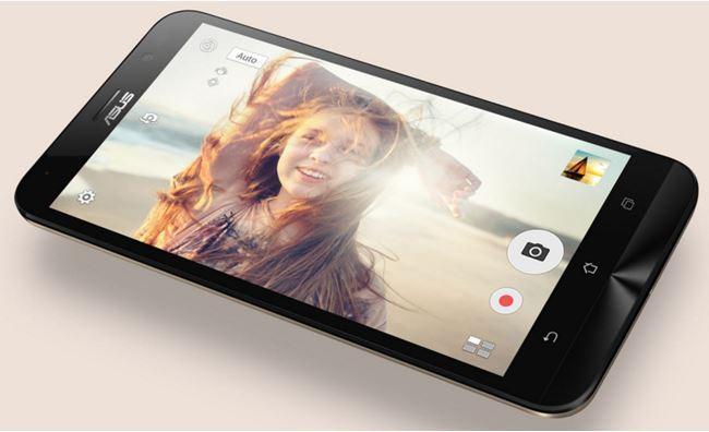 ZenFone Go mới được thiết kế để đáp ứng nhu cầu chụp hình cao của giới trẻ