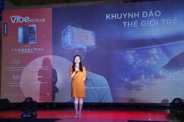 Bà Ngô Thị Yến Vân, Trưởng phòng Marketing Lenovo Mobile Business Group