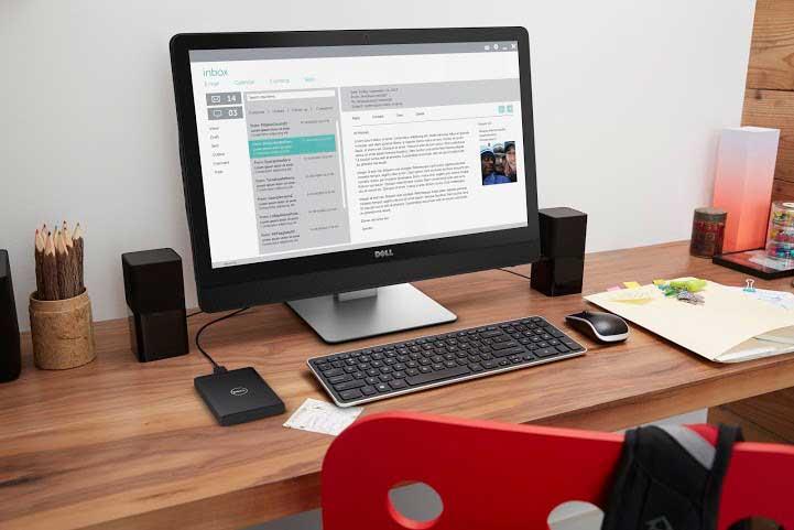 Inspiron AIO 5459, tiết kiệm không gian cho văn phòng