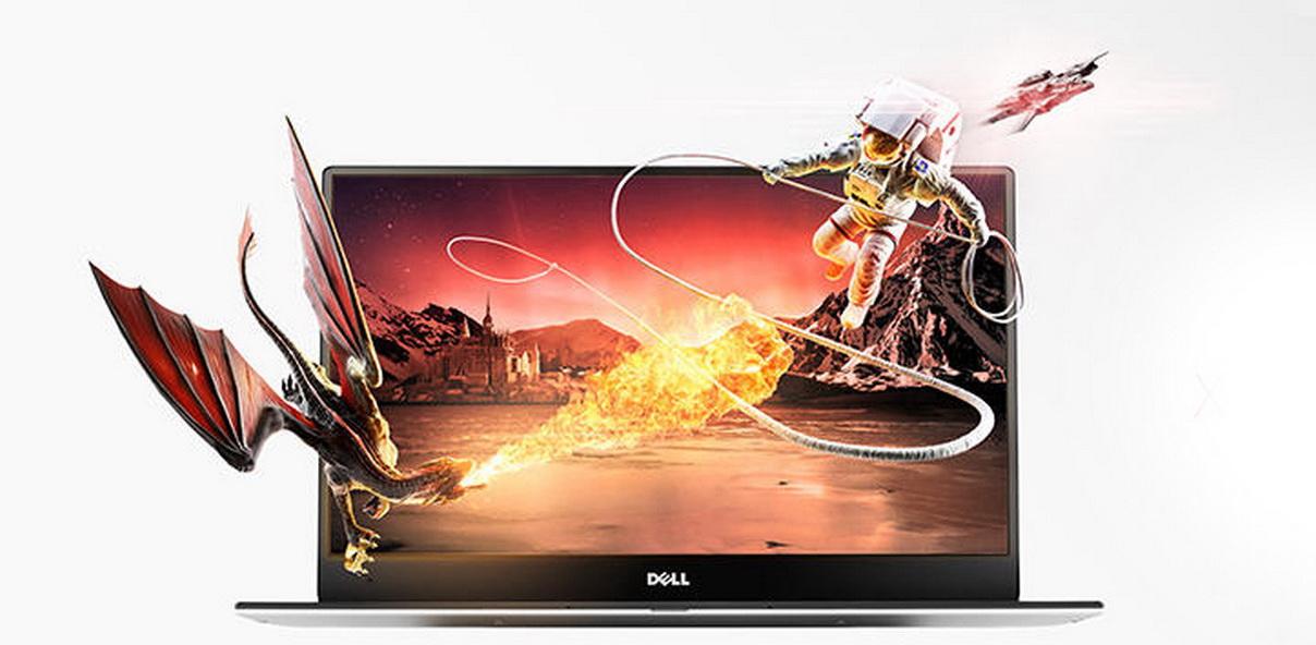 XPS 13 9350 màn hình QHD cho khả năng hiển thị hình ảnh sắc nét