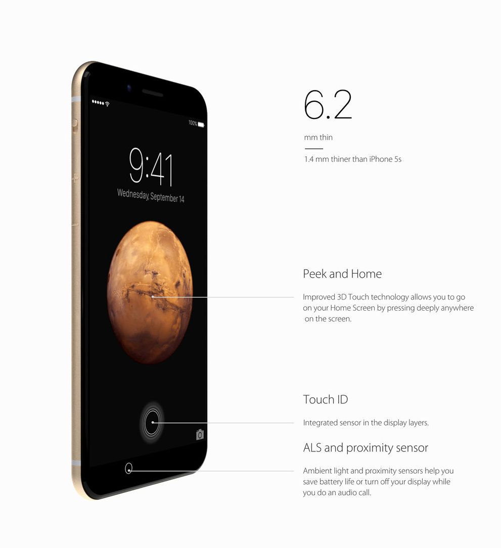 Concept iPhone 7.