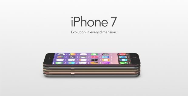 Một concept iPhone 7 thiết kế siêu mỏng.