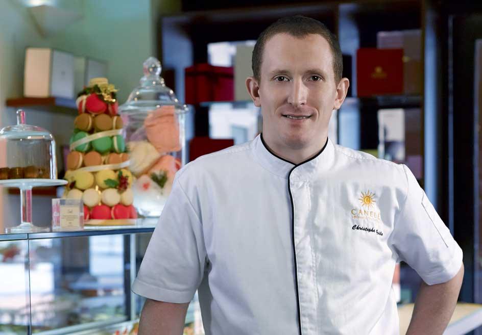 Đầu bếp người Pháp Christophe Grilo