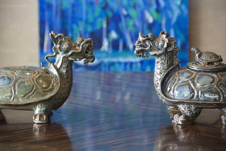 Những món đồ trang trí mang đậm dấu ấn phương Đông