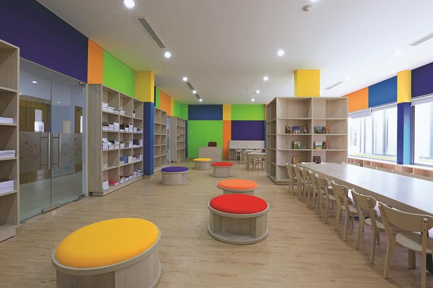 Phòng Thư viện.