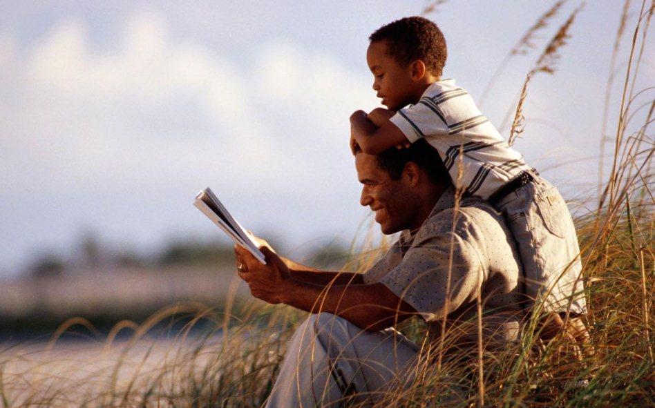 Trẻ sẽ học được rất nhiều bài học từ người cha.