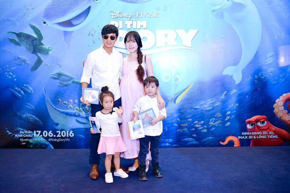 Vợ chồng Lý Hải Minh Hà