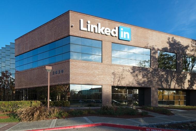 Trụ sở của LinkedIn ở Mountain View, California.