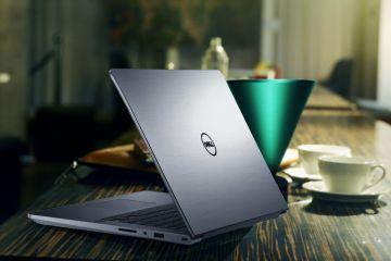 Inspiron 5459 trang bị bàn phím backlit và touch pad rộng, tạo cảm giác thoải mái khi sử dụng