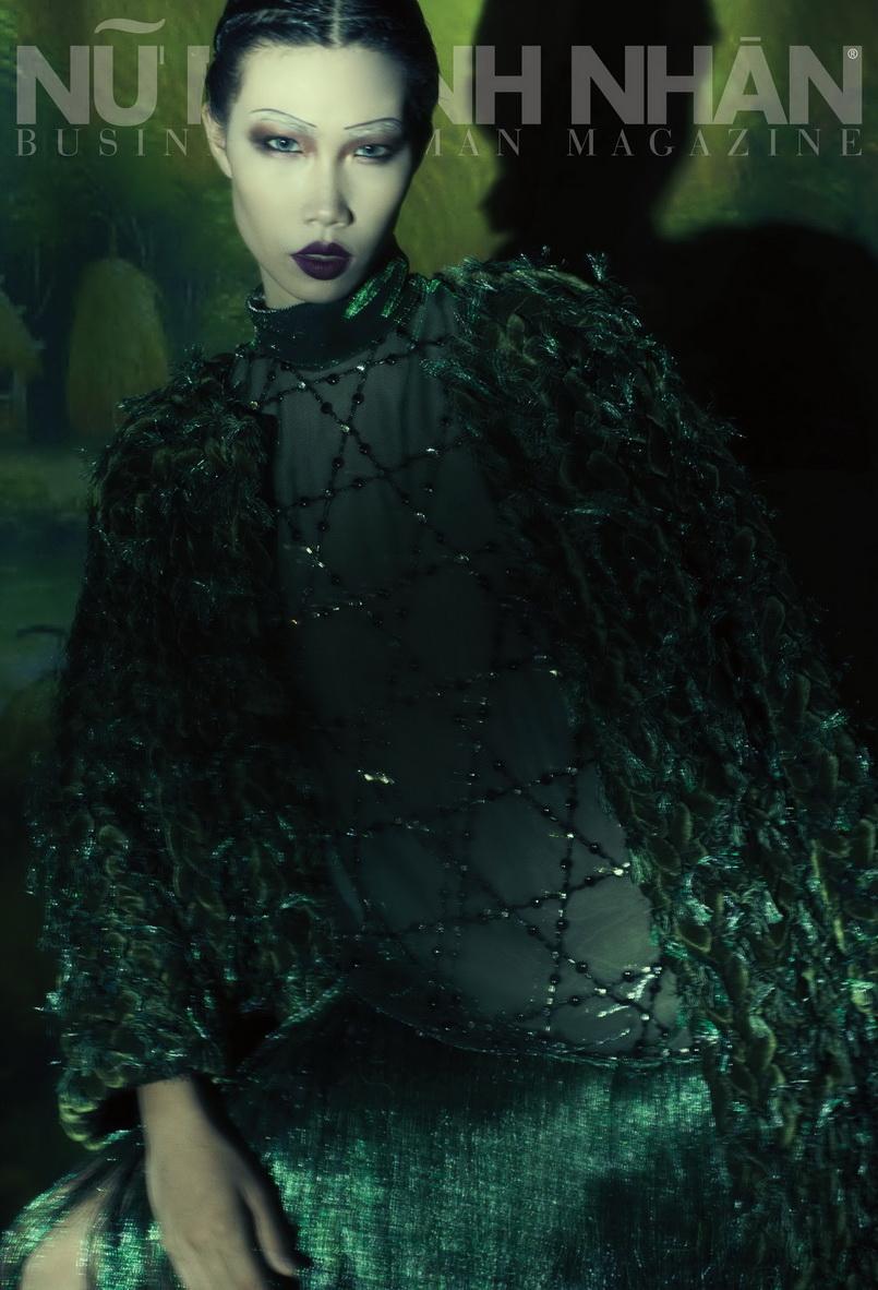 Đầm và áo khoác: No.9 LÚA by CÔNG TRÍ