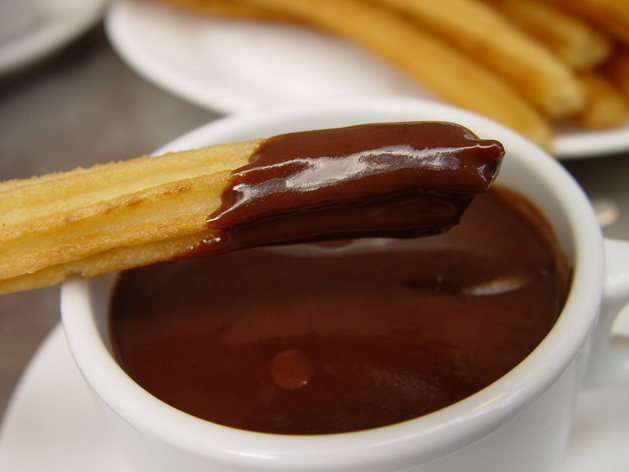 Món Chocolate con Churros