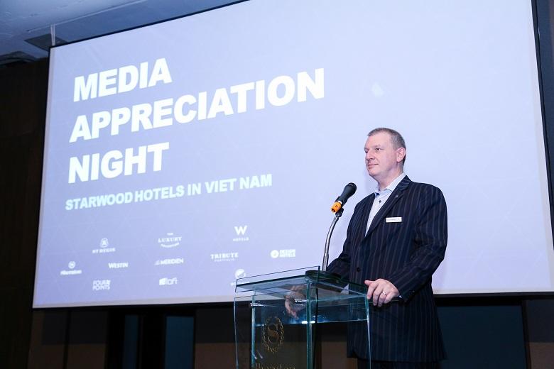 Ông Scott Hodgetts, Tổng Giám Đốc Sheraton Saigon Hotel.
