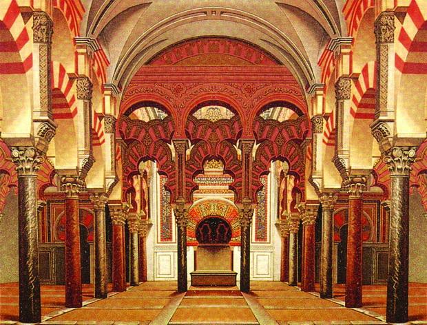 Bên trong Nhà thờ Mezquita