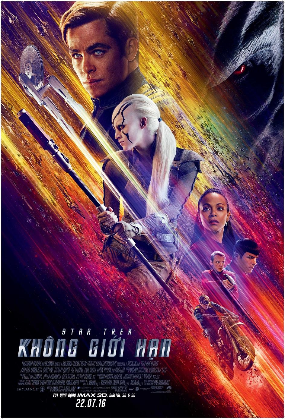 Poster phim Star Trek Không Giới Hạn.