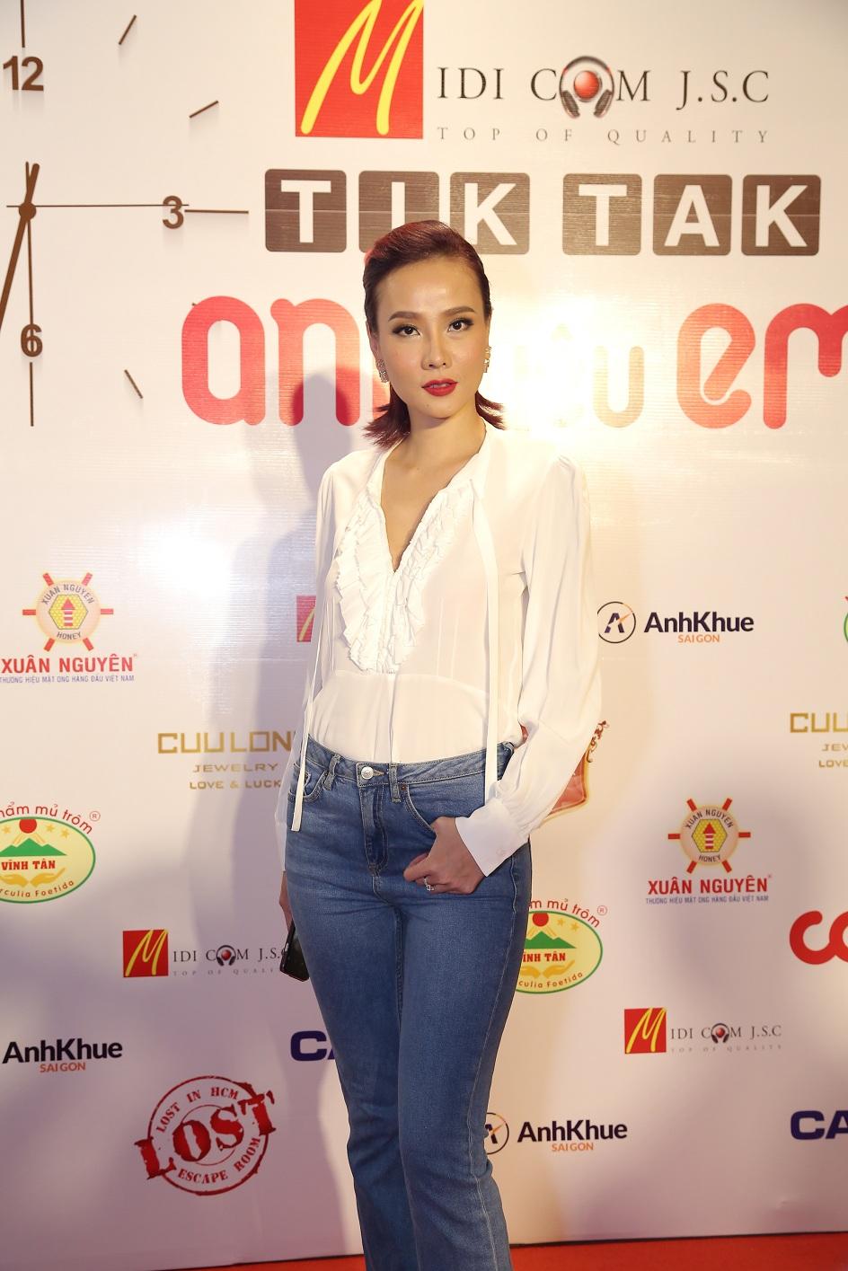 Người mẫu Dương Yến Ngọc.