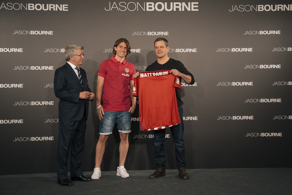 Siêu điệp viên Jason Bourne có màn giao lưu thú vị tại Madrid.